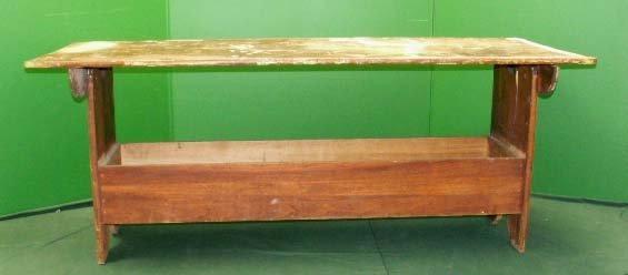 23: PINE HUTCH TABLE