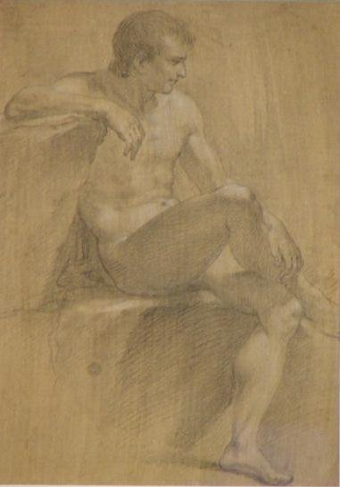 396: GRAPHITE AND CHALK, OLD MASTERS DRAWING