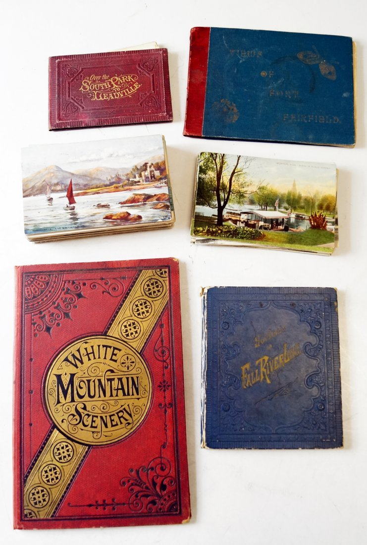 LOT ASSORTED US POST CARDS AND TRAVEL BOOKLETS