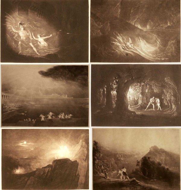 1002: LOT (6) ENGRAVINGS PARADISE LOST