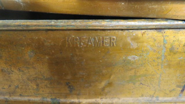 KREAMER COPPER BOILER BASIN WASH TUB WITH LID AND - 2