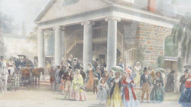 EDWARD LAMSON HENRY (AMERICAN/NY 1841-1919), PRINT, - 2