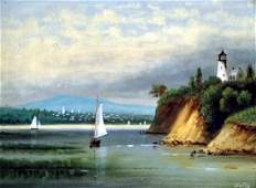 DA FISHER AMERICANCA 18671940 OIL ON ARTIST