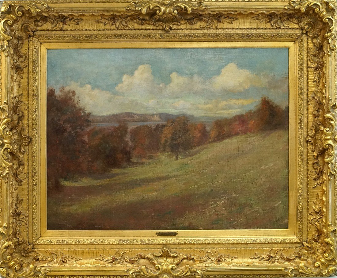 ATTRIBUTED TO HAL ROBINSON (AMERICAN 1875-1933), OIL ON