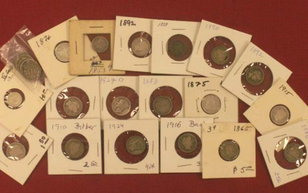 2002: LOT (23) ASSORTED U.S. COINS
