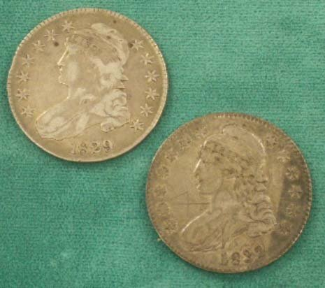 2026: (2) LIBERTY CAPPED HALF DOLLAR COINS