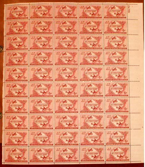2027: LOT (2) MINT SHEET STAMP FILES