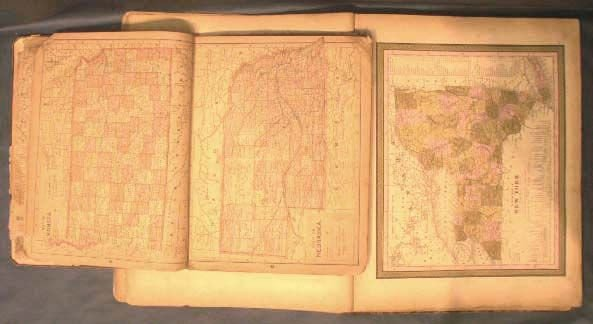 2165: LOT (2) ATLASES INCLUDING PEERLESS 1889