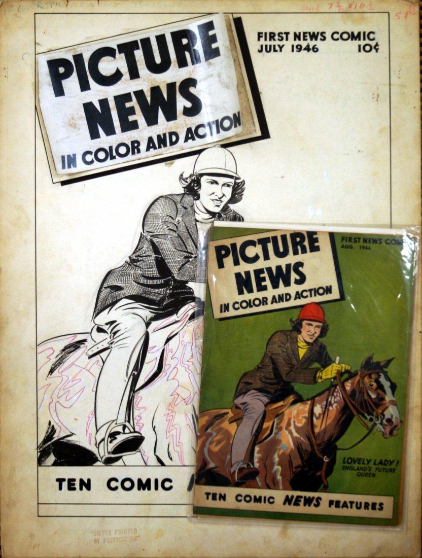 JOHN LAHTI (AMERICAN 1912-), ORIGINAL INK COVER