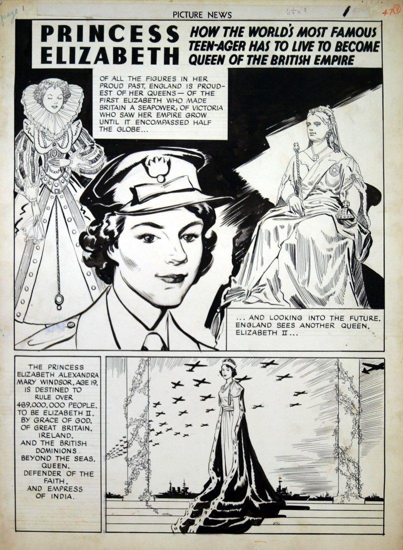 JOHN LAHTI (AMERICAN 1912-), ORIGINAL INK COVER - 2