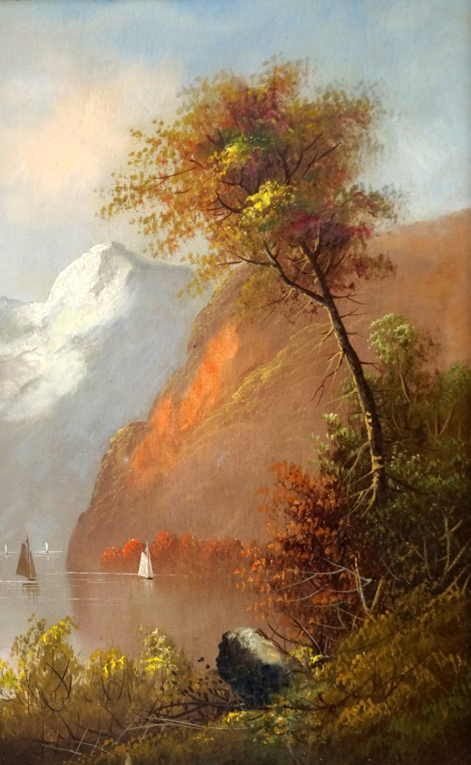 AFTER T.B. POPE (AMERICAN 1796-1886), OIL ON CANVAS,