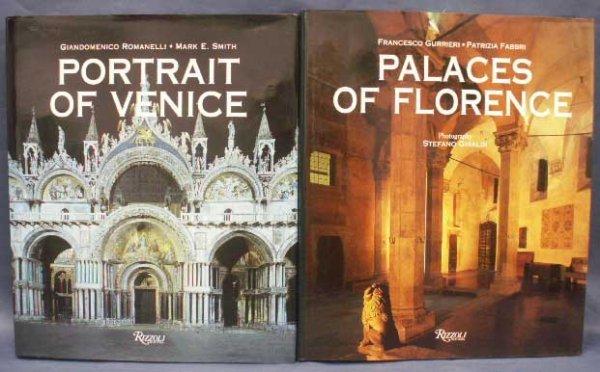 1: LOT (2) VOLUMES - PORTRAIT OF VENICE