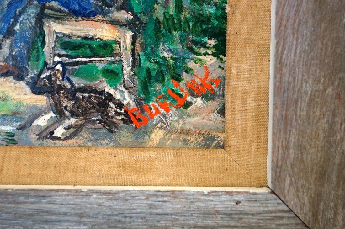 DAVID BURLIUK (RUSSIAN/AMERICAN 1882-1967), OIL ON - 3