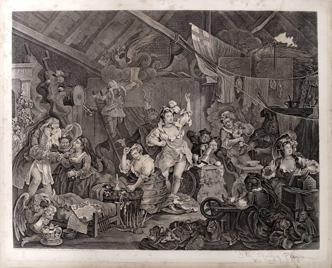 WILLIAM HOGARTH (BRITISH 1697-1764), COPPER ENGRAVING,