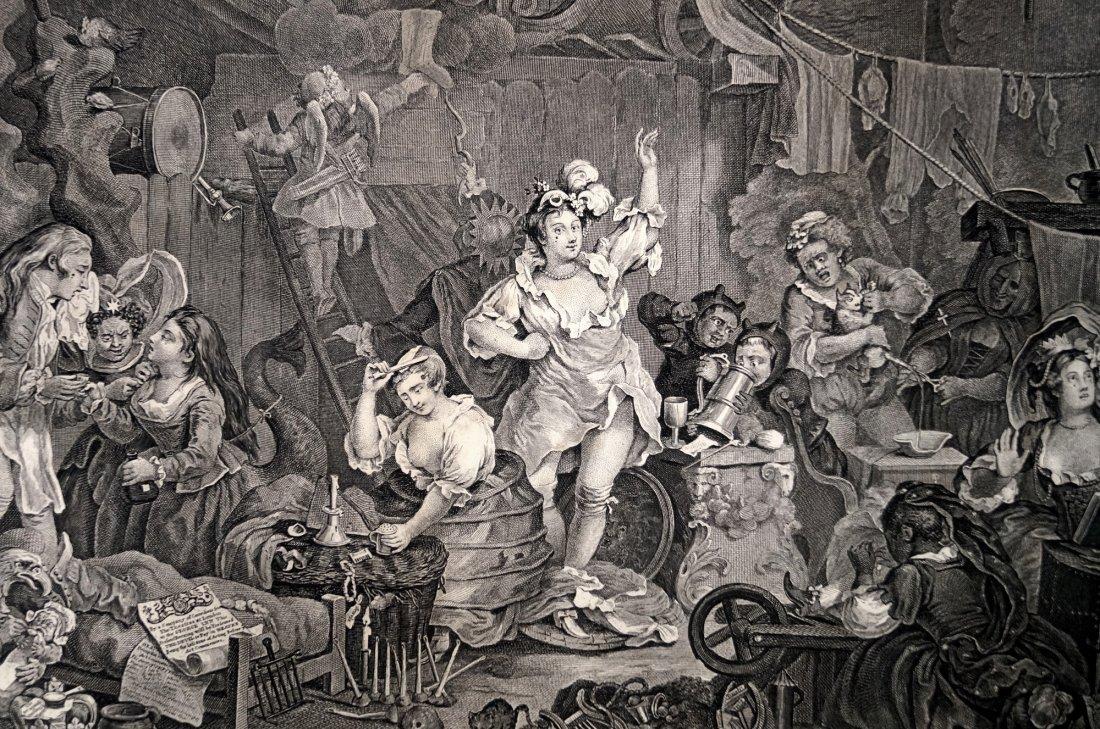 WILLIAM HOGARTH (BRITISH 1697-1764), COPPER ENGRAVING, - 2