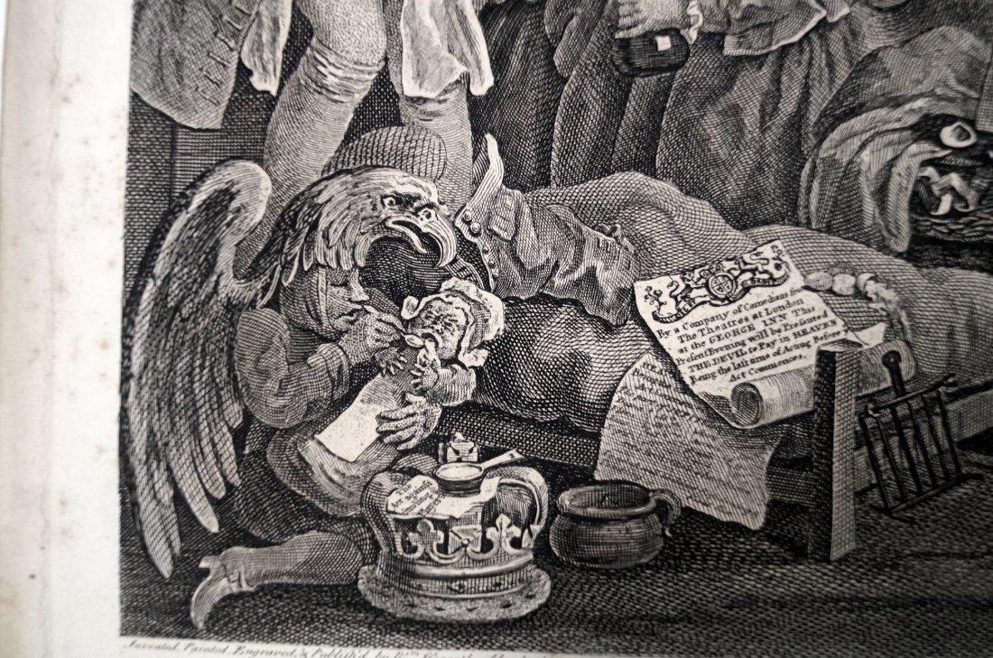 WILLIAM HOGARTH (BRITISH 1697-1764), COPPER ENGRAVING, - 4