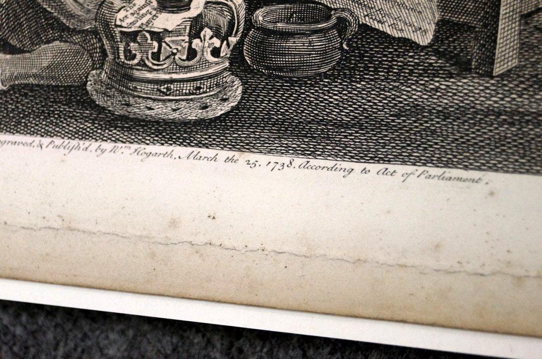 WILLIAM HOGARTH (BRITISH 1697-1764), COPPER ENGRAVING, - 5