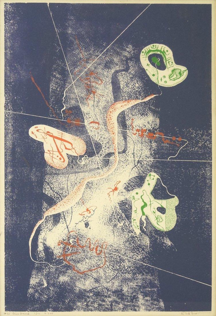 ROBERT VALE FARO (AMERICAN 1902-1988), COLOR SERIGRAPH,