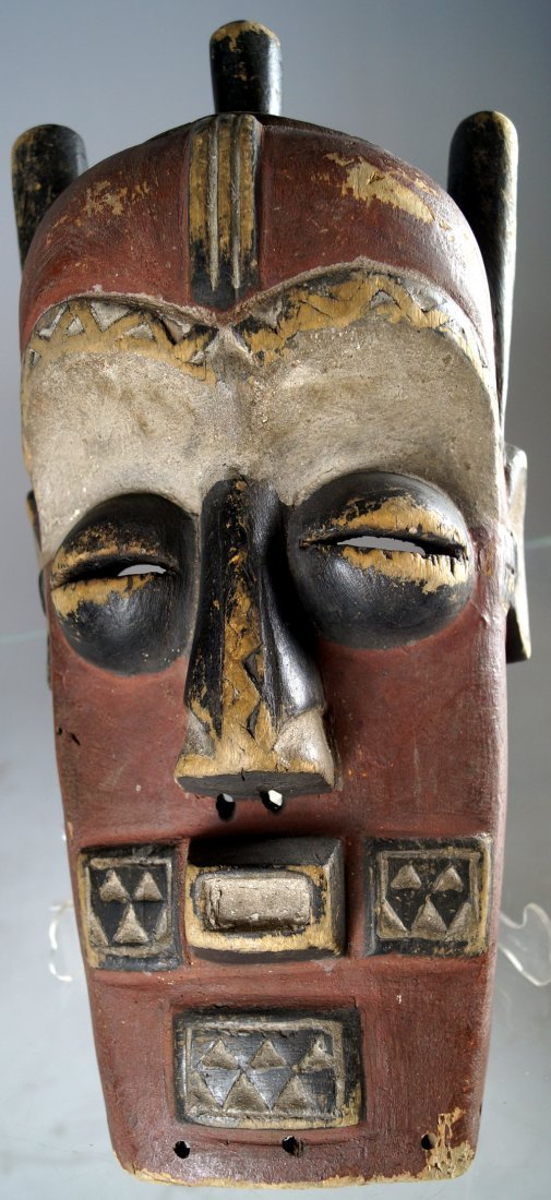 CLASSIC BIOMBO, CONGO, RITUAL CARVED AND DECORATED