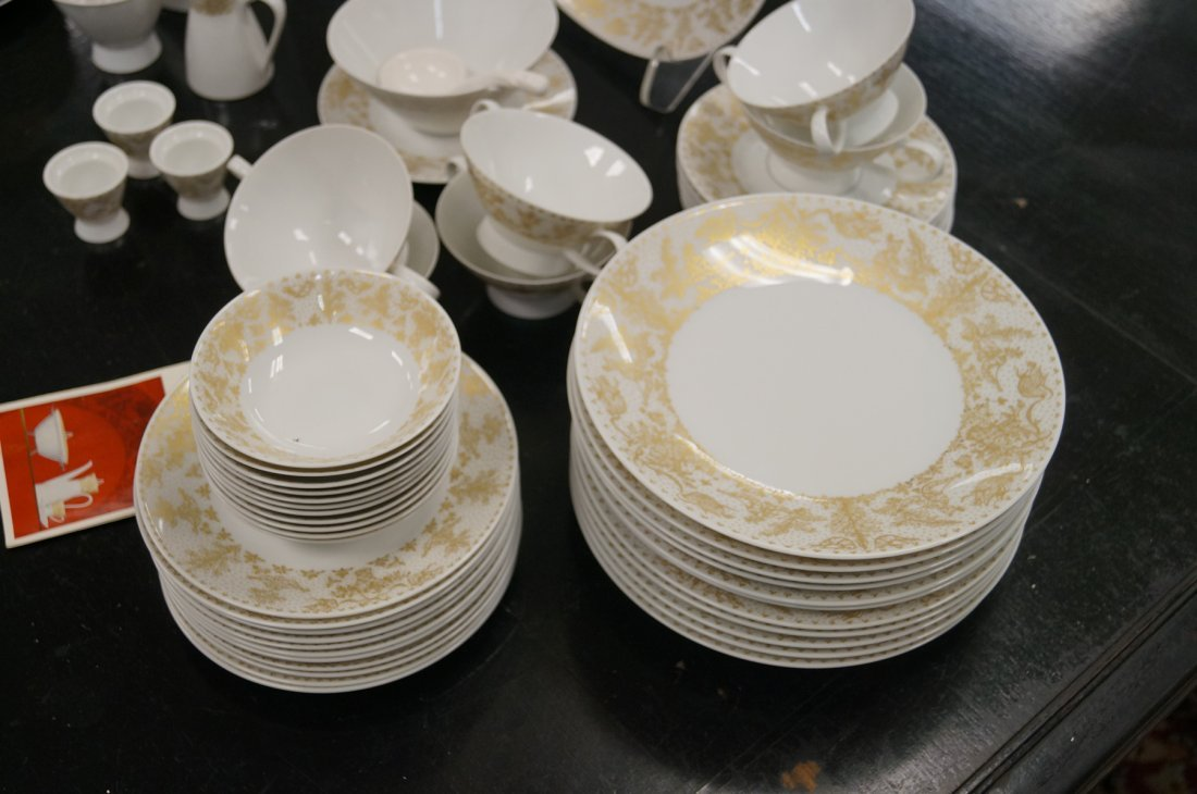 ROSENTHAL STUDIO-LINE DECORATED PORCELAIN DINNER - 4