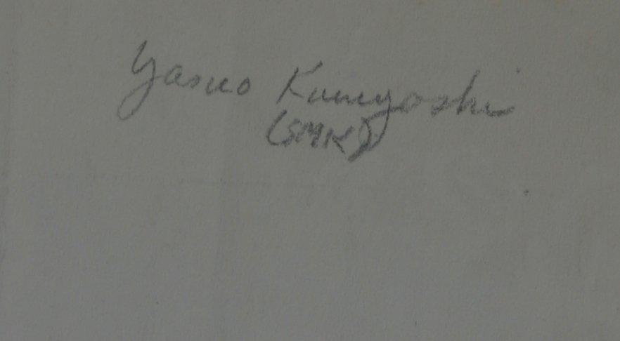 YASUO KUNIYOSHI (1893-1953) - 3