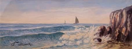 FRANCIS J. QUIRK (AMERICAN 1907-1974), WATERCOLOR,
