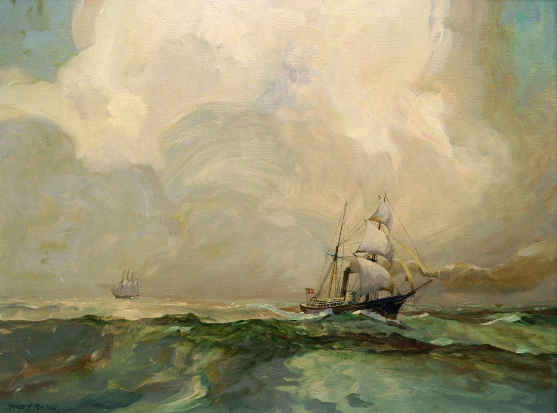 JAMESE ARCHIBALD MITCHELL III (AMERICAN 1932-), OIL ON