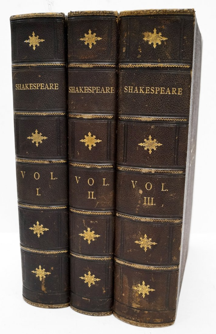 3-VOLUME SET-THE COMPLETE WORKS OF SHAKESPEARE, WILLIAM
