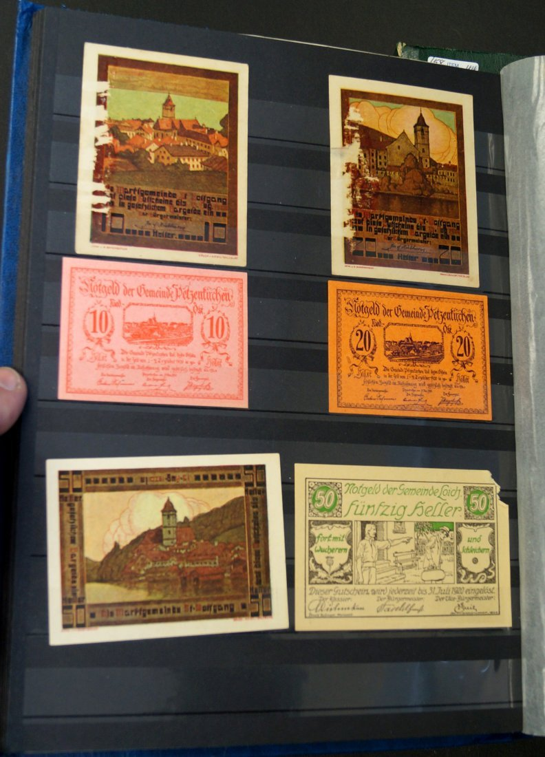 LOT (3) ALBUMS APPROXIMATELY (252) ASSORTED FOREIGN
