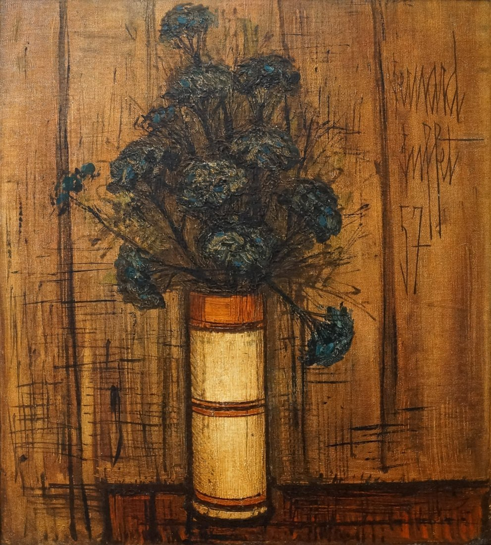 FRENCH SCHOOL (20TH CENTURY) OIL ON CANVAS, FLOWERS IN