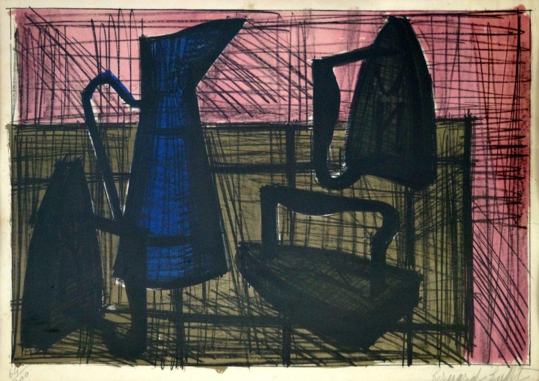 BERNARD BUFFET (FRENCH 1928-1999), COLOR LITHOGRAPH,