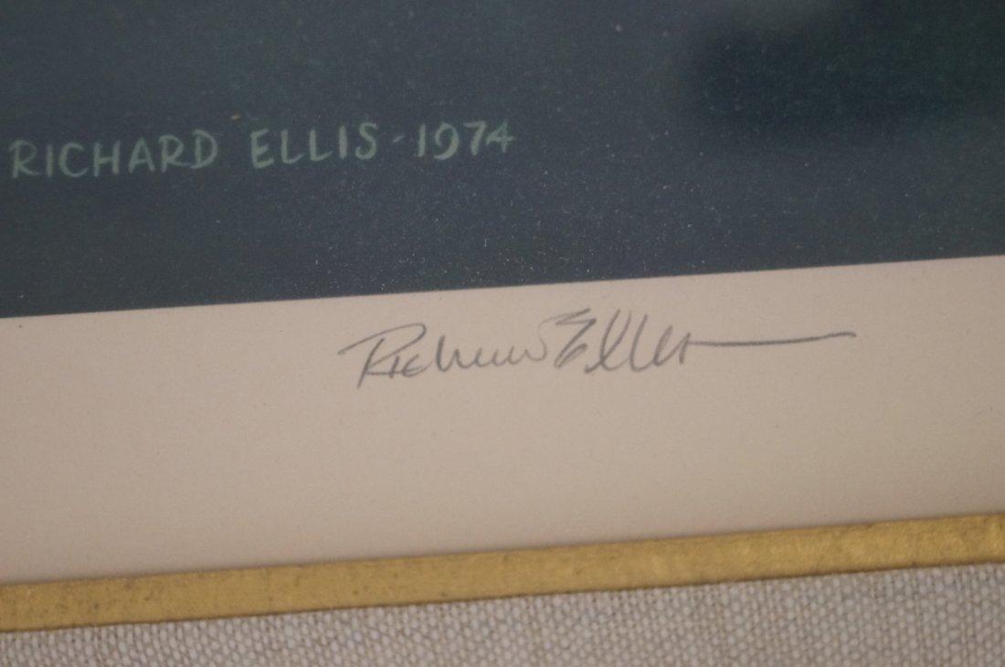 "RICHARD ELLIS (AMERICAN 1938-), LITHOGRAPH, ""SPERM - 2"