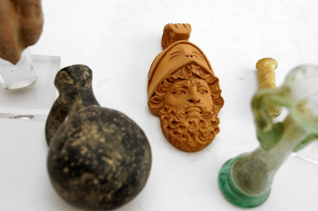 LOT ASSORTED ANTIQUITIES INCLUDING ROMAN, MIDDLE AND - 2