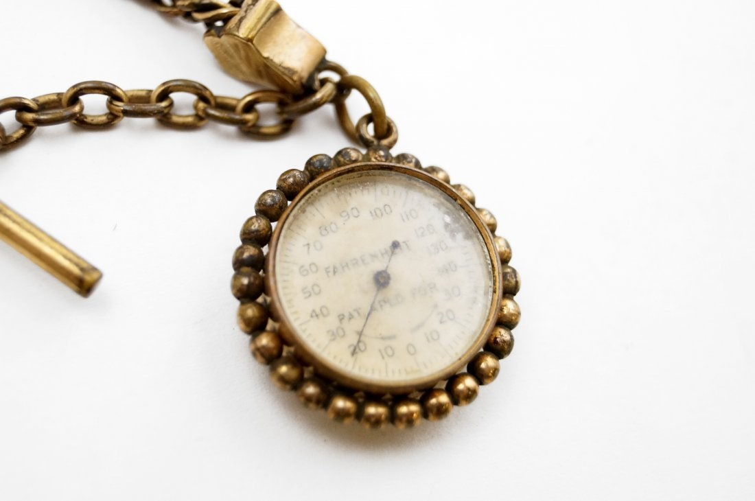 ELGIN GOLD FILLED OPEN-FACE RAILROAD POCKET WATCH WITH - 3