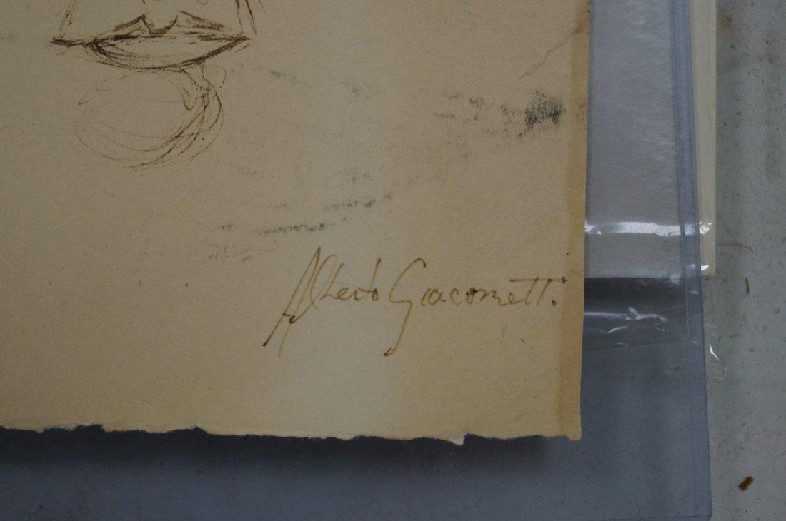 ALBERTO GIACOMETTI (SWISS/FRENCH 1901-1966), - 2