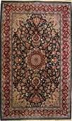 VINTAGE PERSIAN KASHAN DESIGN CARPET BEARS SIGNATURE