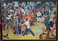 AMERICAN SCHOOL (20TH CENTURY), OIL ON CANVAS, IN