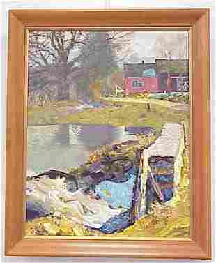 O/C, FLOODING OF THE SPRING, COULTON WAUGH