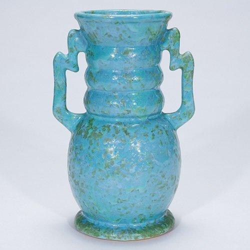 """20: Roseville Carnelian II, 312-8"""", blue"""