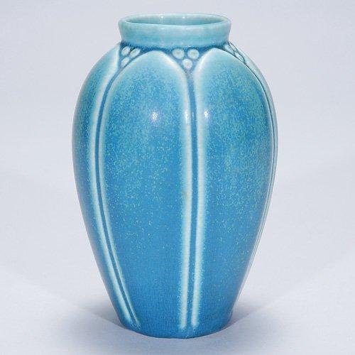 """1002: Rookwood 5 1/4"""" production vase, 1928, #2036"""