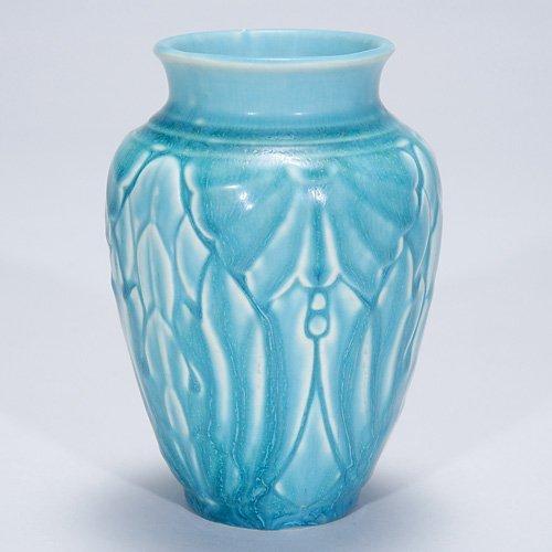 """1003: Rookwood production 5"""" vase, #6510, 1946"""