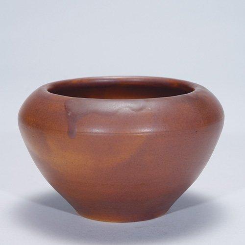 "1007: Rookwood 2 7/8"" mat vase, 1900, 14 Z"