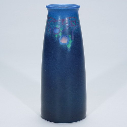 "1023: Rookwood 7 1/2"" Vellum vase, Caven, 1916"