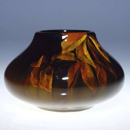 "1012: Rookwood 3""  Standard vase, Bishop, 1899"