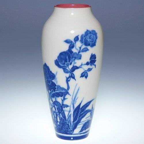 1325: Rookwood Porcelain scenic, Conant, 1917