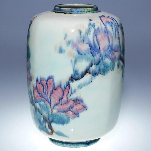 """1519: Rookwood 11 1/2"""" Porcelain, WEH, 1923"""