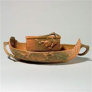 "2 Roseville Bushberry:bowl, 417-14""; windowbox 383-6"