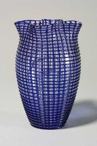 1262 Loetz Vase Lattice Work By Eduard Prochaska 8
