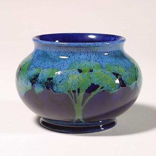 "0679: Moorcroft Moonlit Blue bowl, 4x5 5/8"""
