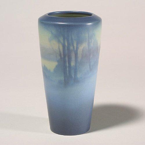 1409: Rookwood scenic Vellum vase, Coyne, 192